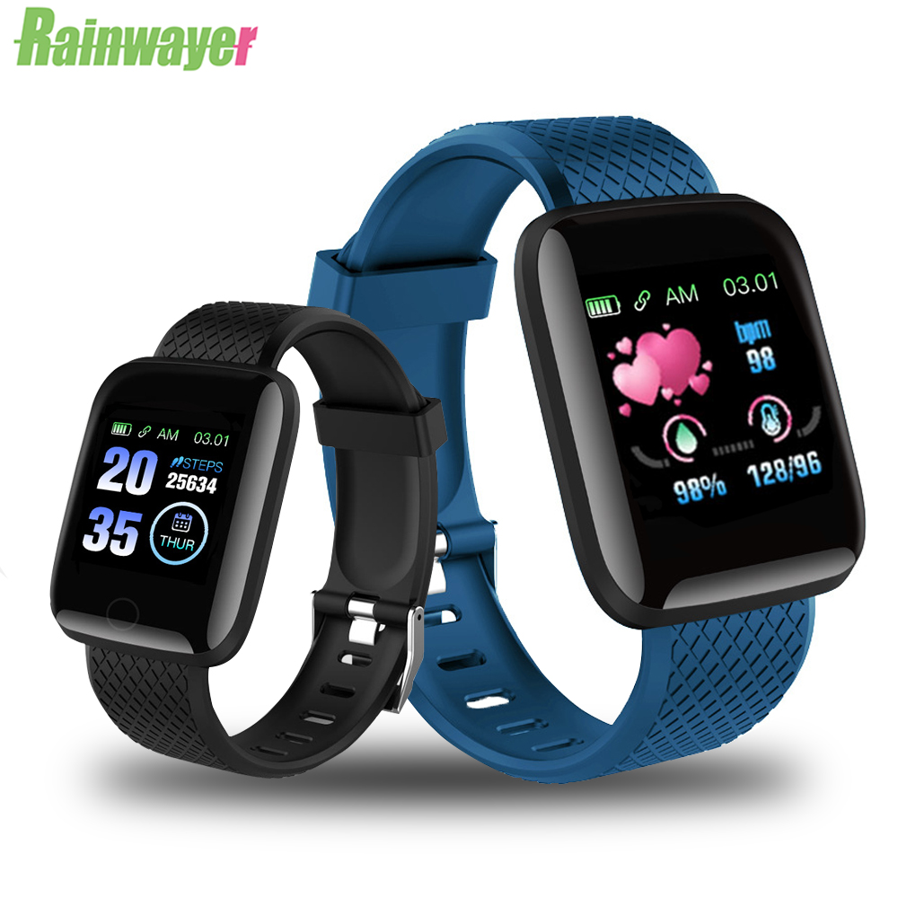 Smart Bracelet Watches Wristband Heart-Rate D13 116-Plus Sport Man title=