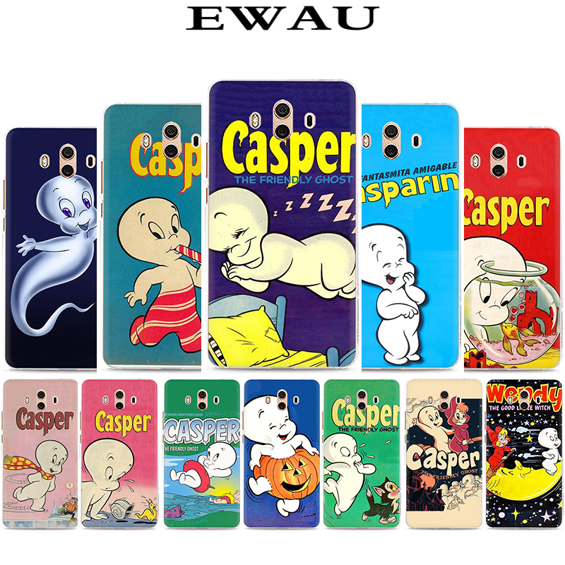 EWAU Casper Hard Phone Cover Case for Huawei Y5 Y6 Y7 Y9 Mate10 20 Lite pro Nova 2 3 5 i image