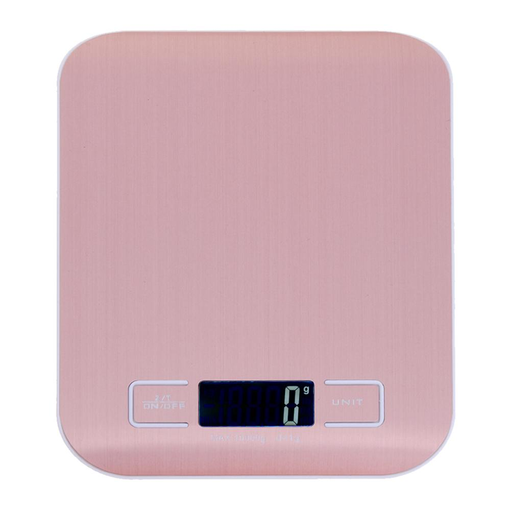 Цифровые кухонные весы с ЖК-дисплеем, 10 кг/1 г, точные пищевые весы из нержавеющей стали для приготовления пищи, электронные весы для выпечки-5