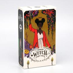 The Modern Witch Tarot 78 Card Deck Paperback by Lisa Sterle Divination Game Mysterious Magical Traditional Wisdom Power