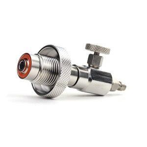 Image 3 - Новинка, аксессуары для пейнтбола, PCP Air Gun HPA Scuba, нержавеющая сталь, заполняющая станция DIN G5/8, зарядный адаптер без Gague