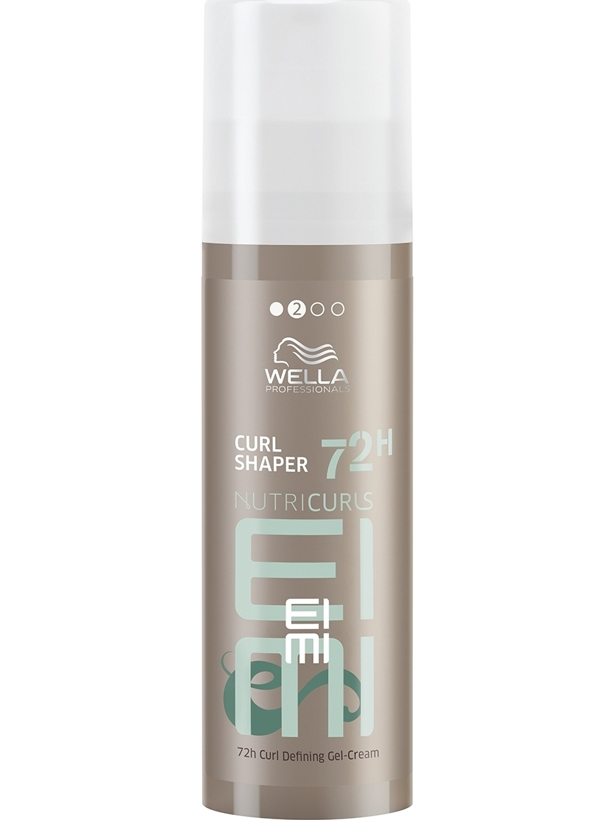 Cream Styling Hair Wella Professionals Nutricurls Eimi Curl Shaper 72 H Curl Defining Gel-cream, 150 Ml