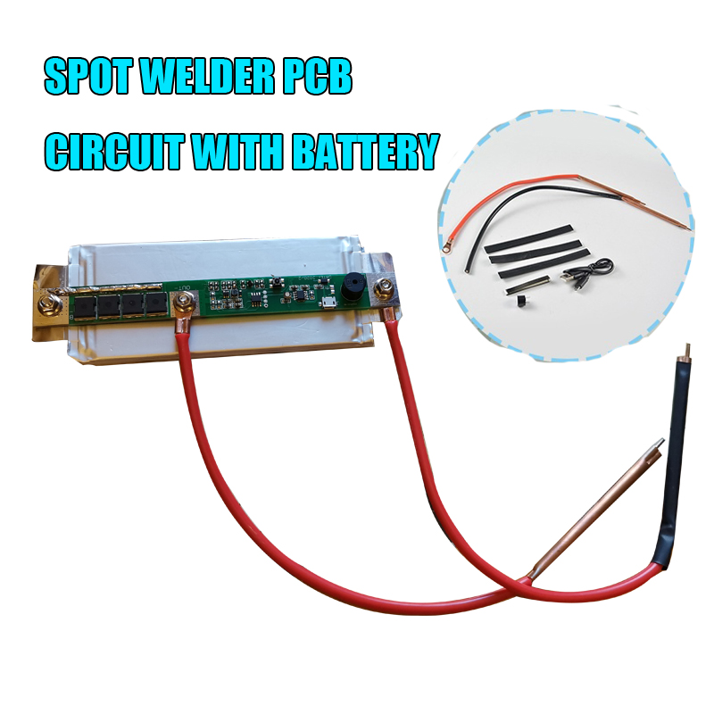 Nickel Spot Welding For Batteries 18650 3.7-4.2V High Power Battery Storag Portable Mini Spot Welding Machine With Box Battery