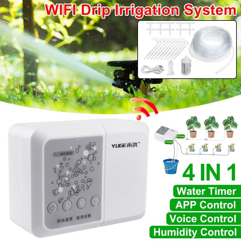 WIFI Verbindung Fernbedienung Automatische Elektronische Bewässerung Timer Garten Bewässerung Controller Anlage Bewässerung
