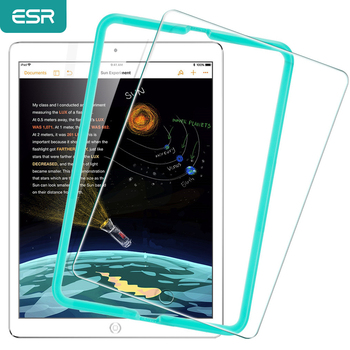 Screen Protector for iPad 9.7 2017, ESR Free Applicator Tempered Glass Film 2018 New Release For Pro Air1 Air2