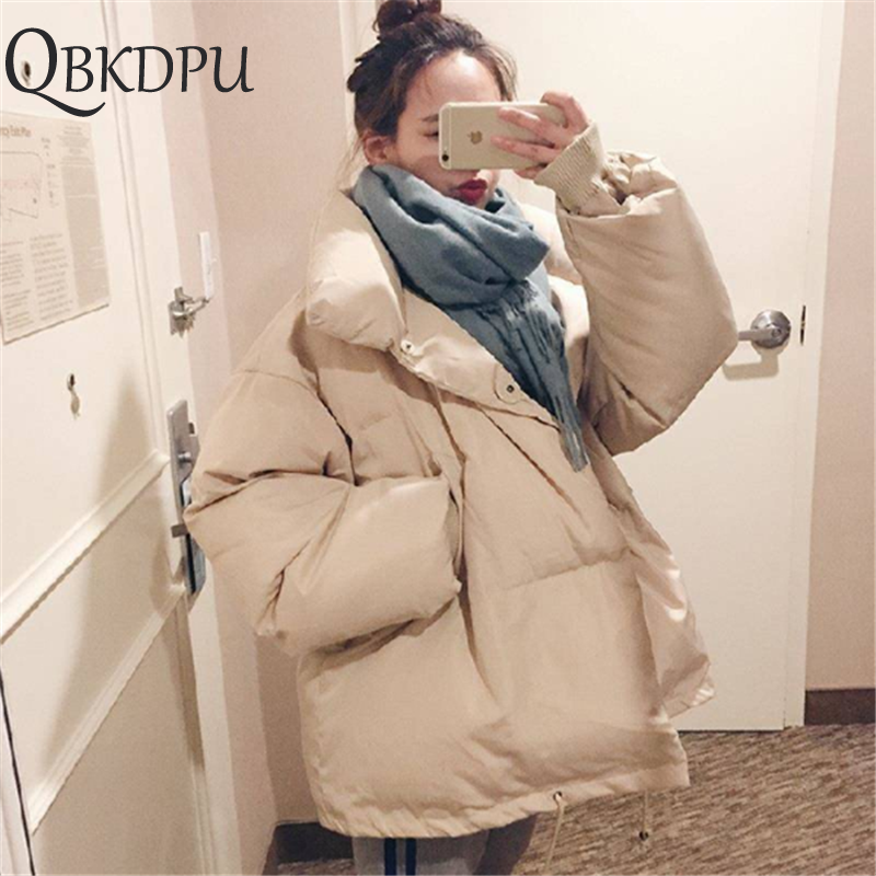 Autumn Winter Ultra Light Jacket Women Coat 2019 Fashion Female Stand Winter Jacket Women   Parka   Warm Casual Plus Size Overcoat