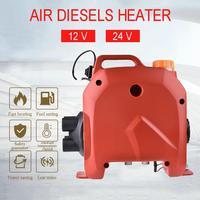 Calefator de combustível 12 v/24 v do ar do calefator do estacionamento do carro 5kw diesel calefator para caminhões do ônibus dos barcos rv vans caravanas que acampam o calefator de ar dos carros|Aquecimento e ventiladores| |  -