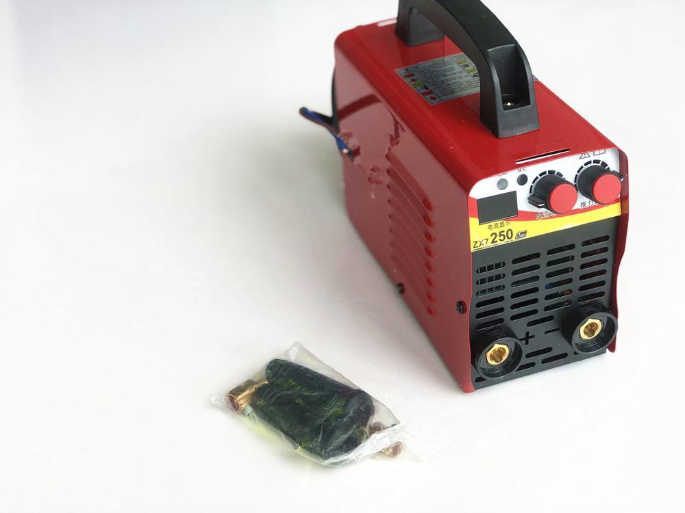 110 v-220 V 6KW/9,5kw ZX7-250 10-250A Arc Force spawarka elektryczna Mini/Pro LCD cyfrowy wyświetlacz MMA falownik igbt spawacze