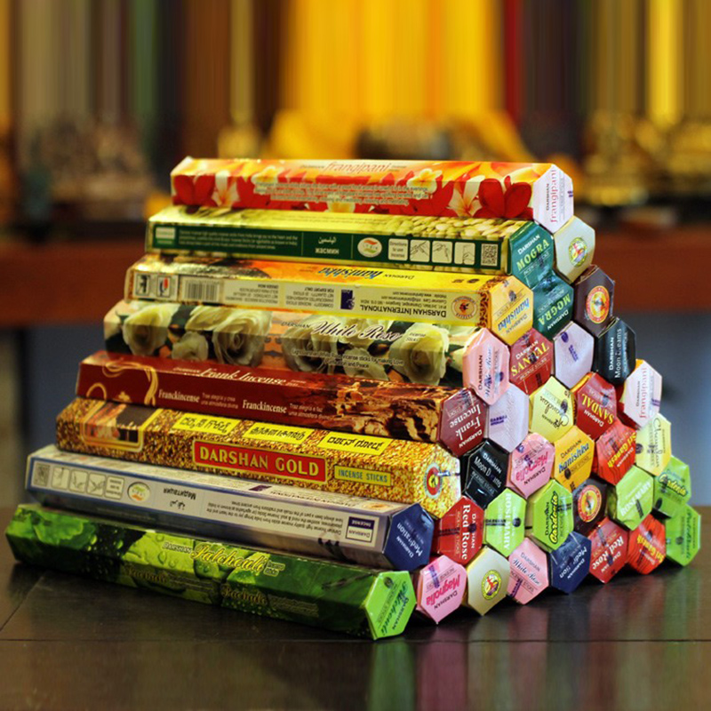 3/6/9/Boxes Tibetan Incense Stick White Sage Indian Incense Premium Multiple Flavor Mixed Package Sandalwood Incense