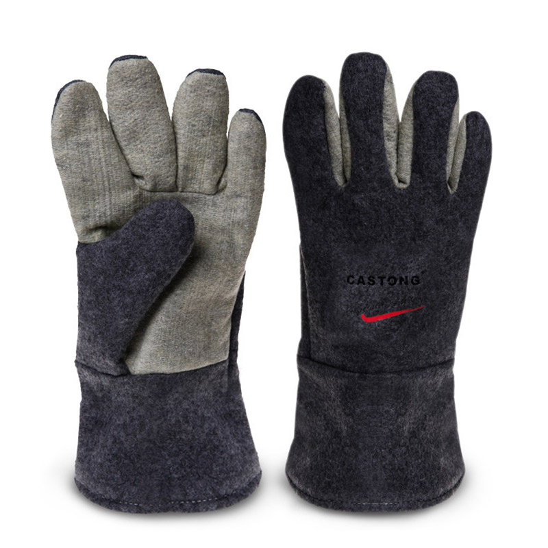 300 Degree Heat Insulation Gloves, High Temperature Resistant Gloves, Flame Retardant Anti-scalding Baking Industrial Glove