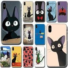 EWAU JIJI CAT My Neighbor Hard phone cover case for