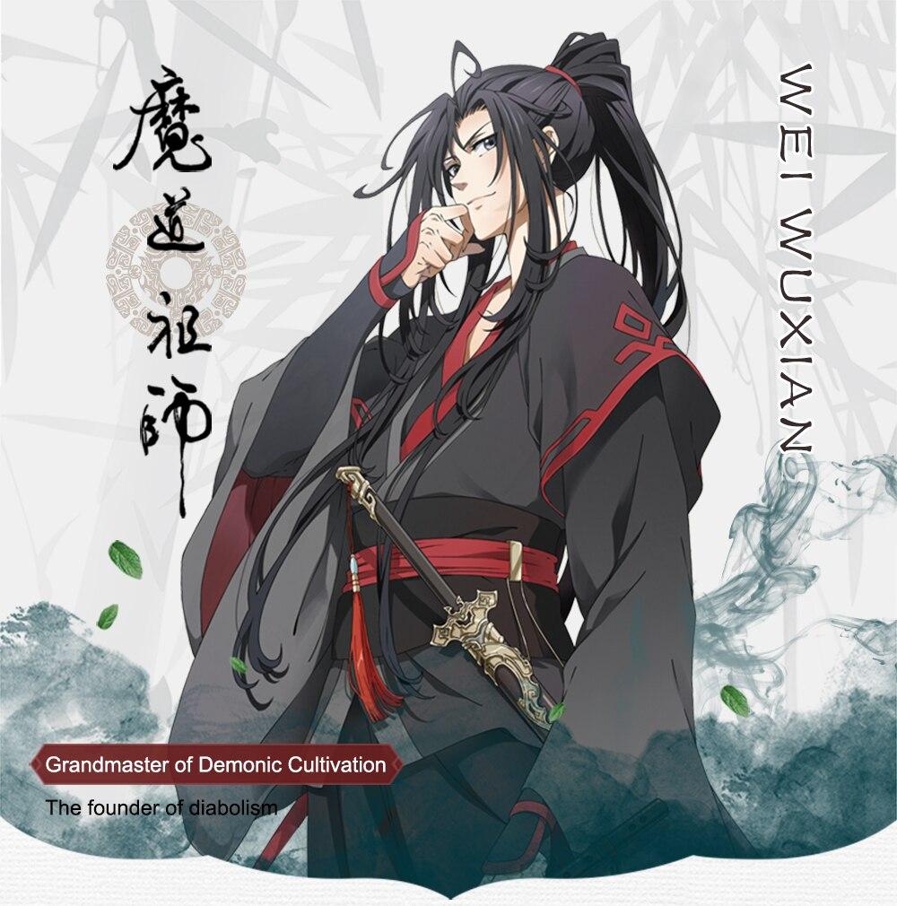 Nouveau Cosplay Wei Wuxian Mo Xuanyu Costume Anime grand maître de la culture démoniaque Cosplay Mo Dao Zu Shi Costume hommes - 3