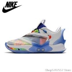 Zapatillas de baloncesto Nike Adapt BB 2,0, zapatillas deportivas antideslizantes transpirables para hombre, size40-46