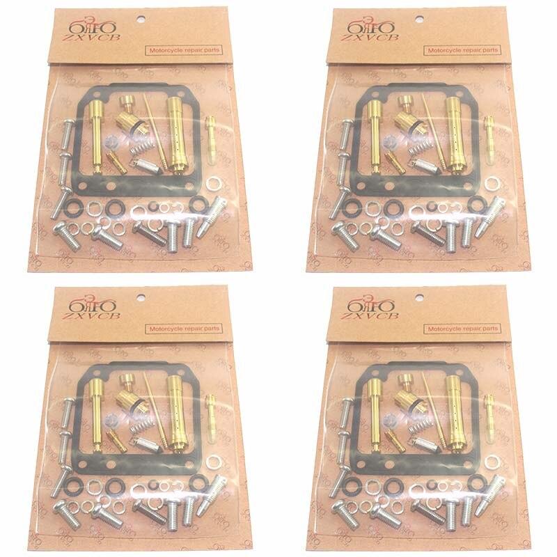 Комплект Для Ремонта Карбюратора мотоцикла XJR400 1993-1996 XJR 400, 4 комплекта