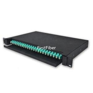 Image 4 - 冷間圧延光ファイバ引き出し odf 24 デュプレックス lc 24 ポート光ファイバパッチパネル分布フレーム