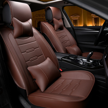 Car Seat Winter Covers | New Car Seat Covers Four Seasons General All Winter Summer Cushion Cushion Car Surrounded Sit Full Leather Seat Cover