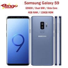 Samsung Galaxy S9 G9600 128GB Dual Sim Octa Core Original desbloqueado Android Teléfono Móvil 5,8