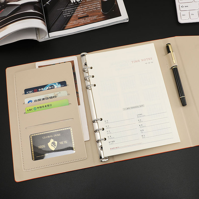 Business Accessories & Gadgets Office Accessories Binder Spiral Office Notepad