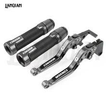 For Honda CB1000R Motorcycle CNC Brake Clutch Lever & 7/8 22MM Handlebar Grips CB 1000R 2008-2019 2016 2017 2018 Accessories