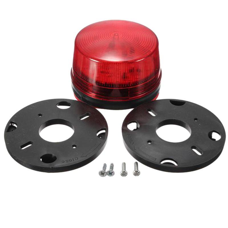 FFYY-Waterproof 12V 120Ma Safe Security Alarm Strobe Signal Safety Warning Red Flashing Led Light For Alarm