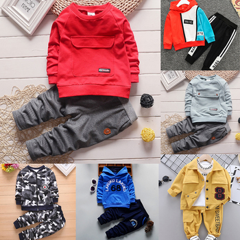 2018 spring autum new infant sports baby boy shoes of children 1 3 years toddler soft bottom hook Children Boys Clothing set Fashion Baby Jacket Pants Kids Outfits Spring Autum Suits Toddler Tracksuits for Boy 1 3 4 5 7 Years
