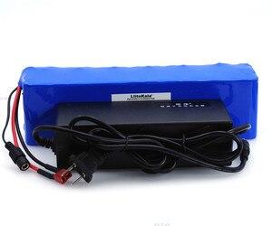 Image 5 - LiitoKala 48V 6ah 13s3p High Power 18650 akumulator pojazd elektryczny motocykl elektryczny DIY bateria 48v osłona BMS + 2A ładowarka