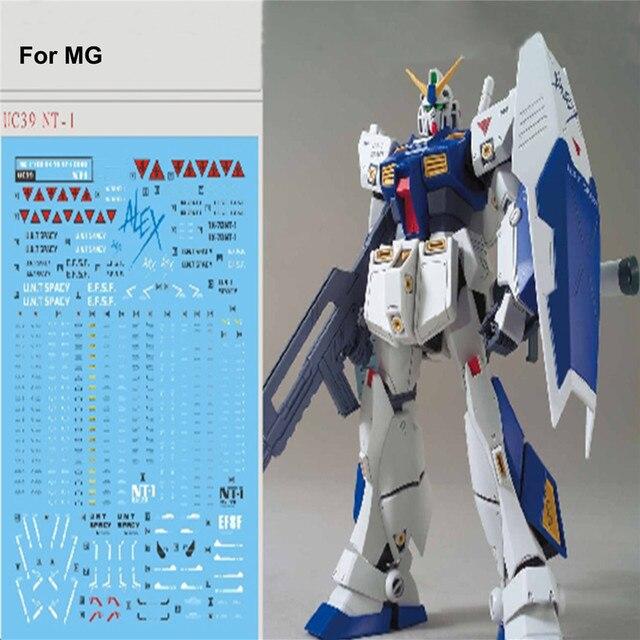 DIY Water Slide Stickers for Bandai MG 1/100 RX 78 NT 1 Gundam Alex ver 2.0 Model Decal