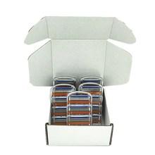 20pcs/Box Custom Packaging Men 5 Layer Shaver Razor Blades Shaving Cassettes Men Shaving Blades Replaceable Gilletee Fusione