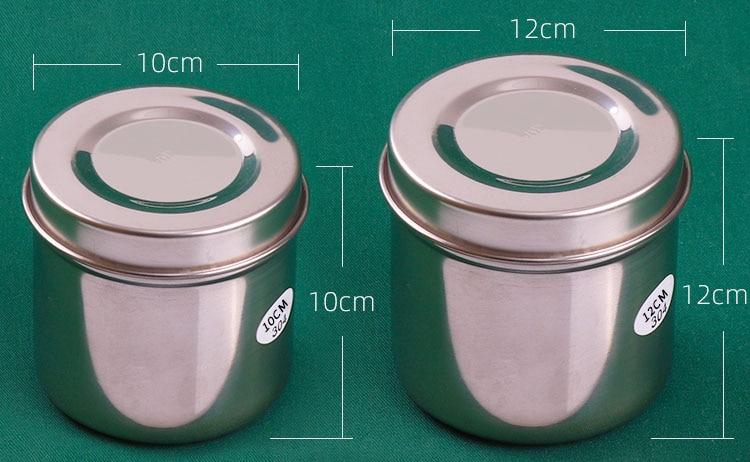 304 aço inoxidável cilindro de álcool desinfecção