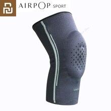 جديد يوبين AIRPOP نيباد لكرة السلة كرة القدم الرياضة السلامة الركبة الكرة الطائرة نيبادس التدريب حماية الركبة نيباد