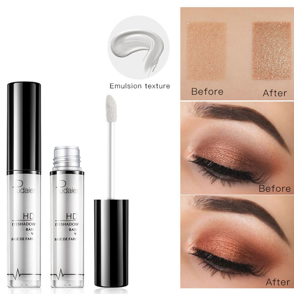 Pudaier Eye Primer Eye Base Cream Long Lasting Eyelid Primer Liquid Base Eyeshadow Base Primer Makeup Moisturizing Beauty Tool image