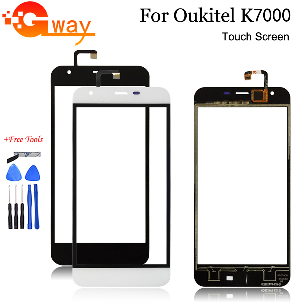 For <font><b>Oukitel</b></font> <font><b>K7000</b></font> Touch Screen 5 inch Panel Digitizer Replacement Repair for+Free Tools image