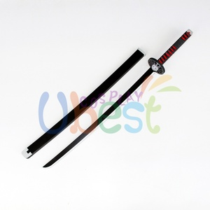 Image 3 - Kamado Tanjiro Prop Cosplay Replica Sword Demon Slayer Kimetsu no Yaiba