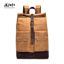 Hot Selling New Style Mens Fashion Backpack Multi-functional Casual Computer Bag Simple COLLEGE STUDENTS Ba