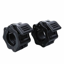Jaw-Buckles Barbell-Clamps Lock Collars Weightlifting Gym Fitness Musculation 25mm 2pc