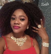 ZuoDi 2019 Bridal Gift Nigerian Wedding Jewelry set Wholesale Fashion African Beads Jewelry Set Dubai gold Designer Jewelry Sets(China)
