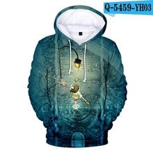 Harajuku Hoodie Sweatshirt Pullover Animation Street Men's 3D Aikooki Away Spirited Comfortable