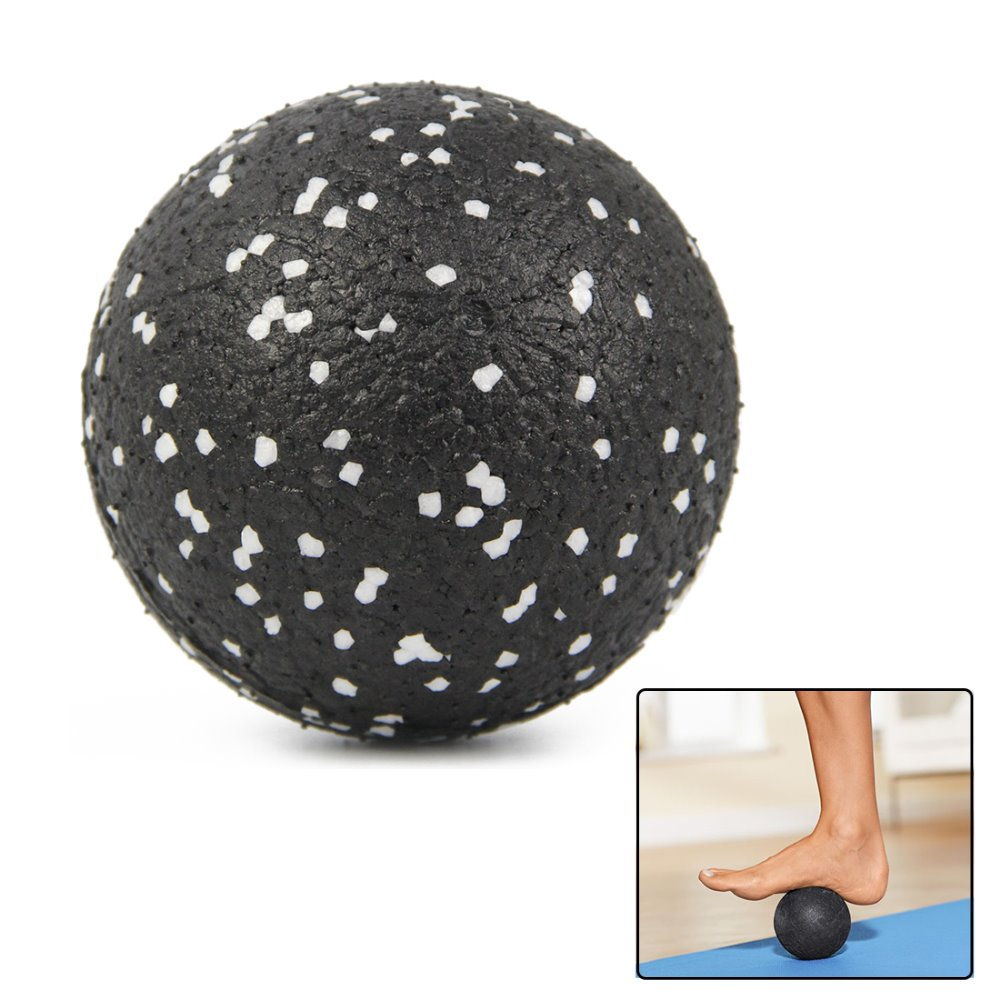 8CM High Density EPP Massage Ball Lightweight Black Fitness Training Lacrosse Ball Body Yoga Sport Exercise