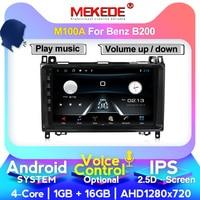 MEKEDE M series 4+64G Car radio GPS Head unit player for Mercedes Benz B200 A B Class W169 W245 Viano Vito W639 carplay
