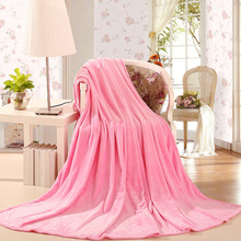 YIANSHU Super Soft Flannel Blanket Aircraft Office Household Carrying Car Travel