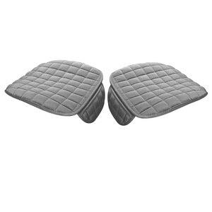 Image 5 - Автомобильный чехол для сиденья, Зимняя Теплая Бархатная подушка для сиденья, универсальное переднее заднее сидение для стула для транспорт автомобиль машина протектор сиденья