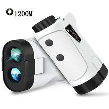 NEW Golf laser rangefinder 1200m 1000m 600m Slope Flag-Lock slope pin Laser Rangefinder for Hunting Laser Distance meter