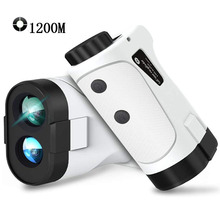 NEW Golf laser rangefinder 1200m 1000m 600m Slope Flag-Lock slope pin Laser Rangefinder for Hunting Laser Distance meter