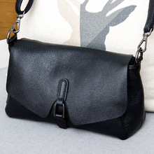SUNNY SHOP Genuine Leather Bag Women Luxury Vintage Shoulder