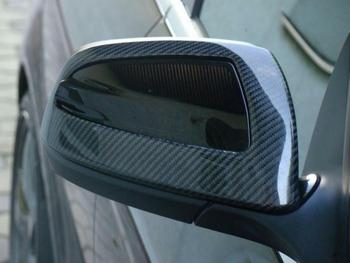 For Mercedes-Benz C Class W204 C230 C280 C300 C63 2007-2009 CARBON Mirror Covers