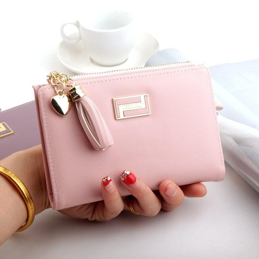 Fashion Ladies Multi-function Wallet Buckle Zipper Female Wallets Multi-card Position Foldable Long Section Purse Money Holders