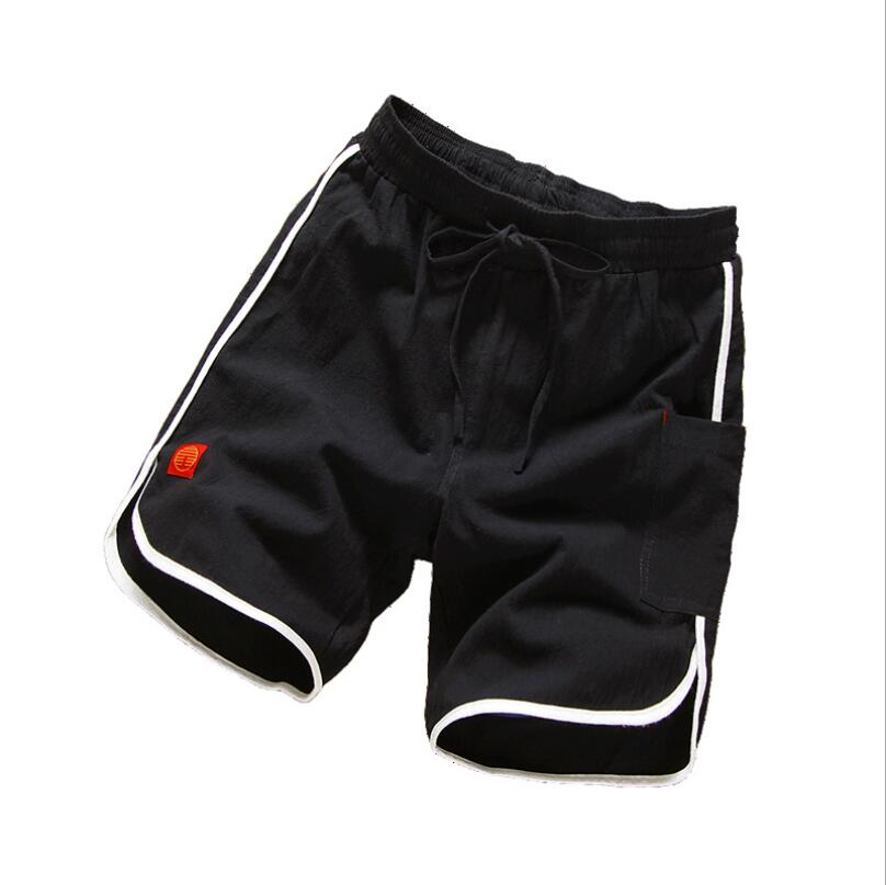 LJ363 2019 Men  Gyms Fitness Cotton Shorts Summer Casual Fashion Cool Short Pants  Jogger Bodybuilding Workout  Brand Sweatpant