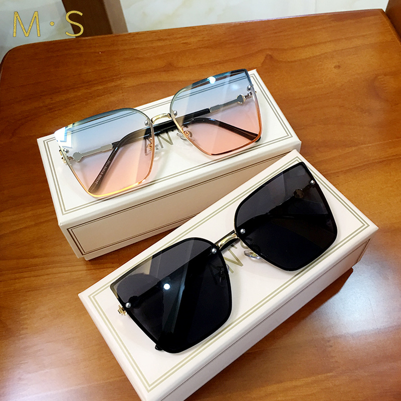 MS 2019 vintage sunglasses womens sunglasses luxury cat eye sunglasses oversized Female sunglasses|Women's Sunglasses| - AliExpress