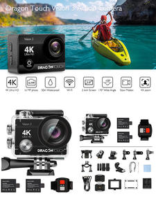 Waterproof Camera Remote-Control Wifi Dragon Touch Wide-Angle 3 170 4K with