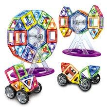 Креативные 3D Магнитные строительные блоки модели и строительные игрушки Магнитный конструктор Набор для строительства магнитные игрушки для детей подарок